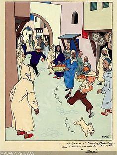 Hergé: Tintin