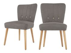 Set of 2 Charley Dining Chairs, Graphite Grey and Oak Yellow Dining Chairs, Wooden Dining Chairs, Outdoor Furniture Chairs, Leather Dining Chairs, Contemporary Dining Chairs, Upholstered Dining Chairs, Dining Room Chairs, Office Chairs, Dining Table