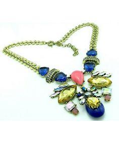 ARABELLA - Retro statement necklace