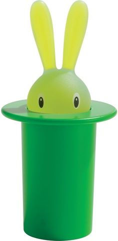 Alessi Magic Bunny Toothpick Holder by Stefano Giovannoni #Toothpick_Holder #Bunny #Alessi #Stefano_Giovanni