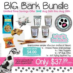 #NationalDogDaym special limited edition treat package for your #dogs   http://www.frotailsonly.com/jimmiller    FH104 #puppies #fto