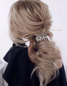 Featured Hairstyle: tonyastylist; www.instagram.com/tonyastylist; Wedding hairstyle idea.