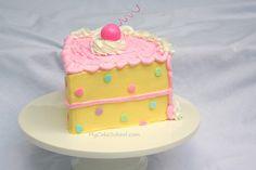 Piece-of-Cake!  A Blog Tutorial from MyCakeSchool.com