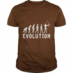 Do you love #Archery Evolution TShirt ?, Order HERE ==> https://www.sunfrog.com/Sports/Do-you-love-Archery-Evolution-TShirt--Guys-Brown.html?29538, Please tag & share with your friends who would love it , #christmasgifts #renegadelife #birthdaygifts