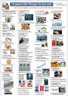 Jeunesse global korea support group 한서정의 <3년간 꼭 해야 할 100가지 To Do List> www.system114.net