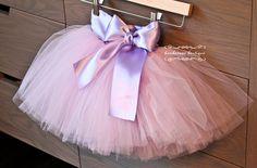 tutu skirt, flower girl dress, Soft Tulle Lavender and Purple tutu, Bridal, Weddings, Flower Girls CUSTOM sewn tutus. $88.00, via Etsy.