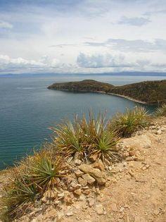 http://www.TravelPod.com - Isla del Sol, punta norte by TravelPod member Davidenicola, from Copacabana / Isla del Sol, Peru