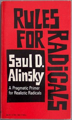 Saul Alinsky, community organizing and rules for radicals. Saul Alinsky's work is an important reference point for thinking about community organizing and community development. His books Reveille ...