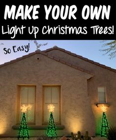 Christmas Tree Decorations DIY Ideas! Wooden trees make the cutest front yard decor, and they're SO simple to make, too! Here's what you'll need to make yours... Wooden Christmas Trees, Wooden Tree, Christmas Crafts For Kids, Wooden Diy, Christmas Projects, Christmas Tree Decorations, Christmas Diy, Front Yard Decor, Trendy Home Decor