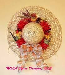Image result for ideas of flower and hanging decoration on ladies hat