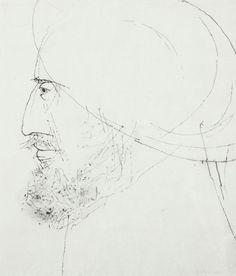Tadeusz Kulisiewicz - Portret mężczyzny z brodą