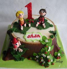 Včelí Medvídci Na Pařezu  on Cake Central Cake Decorating, Birthday Cake, Goals, Desserts, Food, Tailgate Desserts, Birthday Cakes, Deserts, Essen