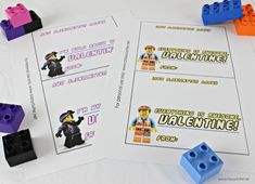Lego Valentines with a Free Lego Movie Printable - Classy Clutter