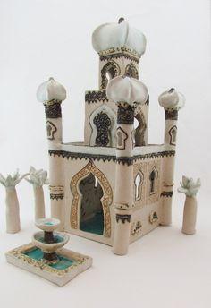 medina - merrie tomkins...ceramic artist , the mandir