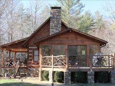 VRBO.com #294942 - Mountain Magic Log Cabin Rental