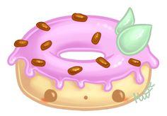 Cute Donut by Metterschlingel.deviantart.com on @deviantART