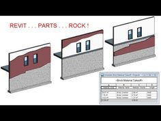 CADclip - REVIT 2014 Parts For Wall Cladding ROCKS ! - YouTube
