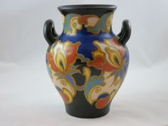 Gouda Pottery Vase.