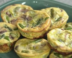 Episode 5: No Brainer Breakfasts. Try these Mini Frittatas with Leeks and Asparagus