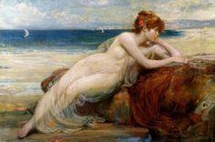 Herbert James Draper 1863-1920   British Classicist painter - Pictify - your social art network