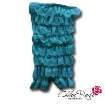 Aqua Strapless Romper | Chloe Rose Headbands