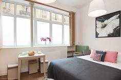 Studio with mezzanine in Paris - Rue d'Edimbourg - Rent