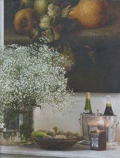 Ville and Casali Magazine, Still Life Painting, Dining Room Design Deconstruction, Dining Room Design, Vignettes, Still Life, Composition, Painting, Inspiration, Image, Biblical Inspiration