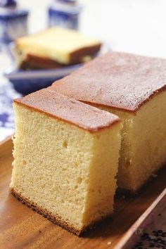 Japanese sweets -Kasutera-
