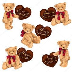 Teddy Beer, Adobe, Love Photos, Message Card, Photo Craft, Vintage Paper, Decoupage, Valentino, Craft Projects