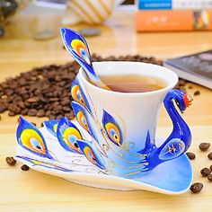 Is this not the most amazing cup you've ever seen? I would drink anything out of this.