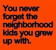 You never forget....