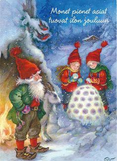 Arias/Vernet, Christmas card 10 x 15, Finland