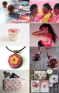 Ladybug by Bee on Etsy--Pinned with TreasuryPin.com