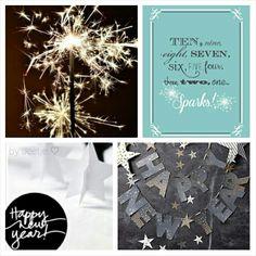 Happy New Year! Moodboard by Jeetje♡: Sparkle!