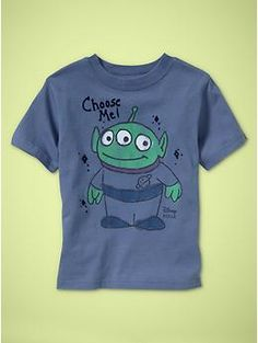 Choose me!  Junk Food Toy Story tee for Gap Toddler Boys  $19.95  www.junkfoodclothing.com  Buy it here:  http://www.gap.com/browse/product.do?cid=69053&vid;=1&pid;=138005&scid;=138005012