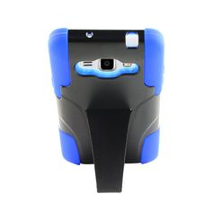 SAMSUNG GALAXY GRAND PRIME/G530 BLACK/BLUE HYBRID RUGGED PLASTIC CASE WITH STAND