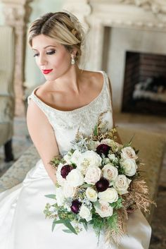 Beautiful bouquet » Audrey Rose Photography, Blushing Blooms » Kelsey Ann Events