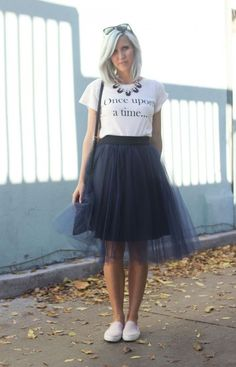 Jupon en tulle : awesome Jupon en tulle : HOW TO STYLE A TULLE SKIRT