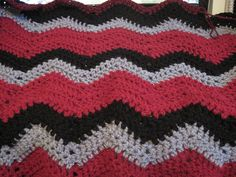 Ravelry: Project Gallery for Gary's Ripple pattern by Jan Eaton