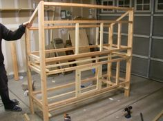 Building plans for double-decker bunny hutch Double Rabbit Hutch, Rabbit Hutch Plans, Rabbit Hutches, Meat Rabbits, Raising Rabbits, Small Chicken Coops, Chicken Coop Plans, Bunny Cages, Rabbit Cages