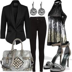 Grey Gun #fashion #mode #look #outfit #style #stylaholic #sexy #dress