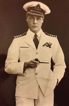 IF this is not photoshopped, this appears to be HRH The Prince of Wales, later Edward VIII, later the Duke of Windsor.