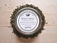 5 Organic Skincare Products You Need to Own - 5. Wild Mint Foot Butter
