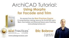 ArchiCAD Tutorial | Using Morphs for Facade and Trim