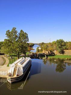 Lock 16 on the Illinois & Michigan Canal in LaSalle, Illinois.