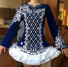 Doire Dress Designs / Shauna Shiels Irish Dance Solo Dress Costume