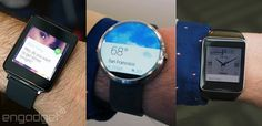 Three of the newest #AndroidWear watches compared by #Engadget