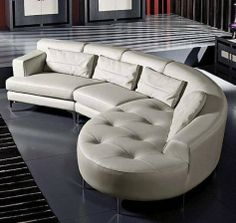 White Leather Sofa - For more go to http://sofa-a.com/sofa/white-leather-sofa-a/ - White Leather Sofa, The white color is one of the most favorite and popular colors in the furniture, that is known to be calm and relaxing. As you spend majority of your time in your living room, you need for comfortable furniture that will reflect on your mood. White leather sofa is prepared ...