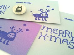Great Christmas Cards made with stamps! #cards and #design made by www.studioneeltje.nl @Cora Verhagen