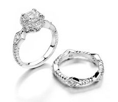 Vintage Engagement Rings by Marisa Perry